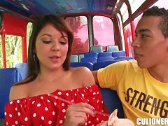 Naughty Curvy Latina Nataly Gets Turned On Thinking About Sex