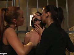 Betty Stylie is being fucked hard in the jail
