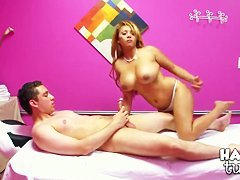 Baylee and Luther Young in exciting xxx scene