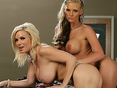 Diamond Foxxx & Phoenix Marie & Christian & Evan Stone in Naughty Office